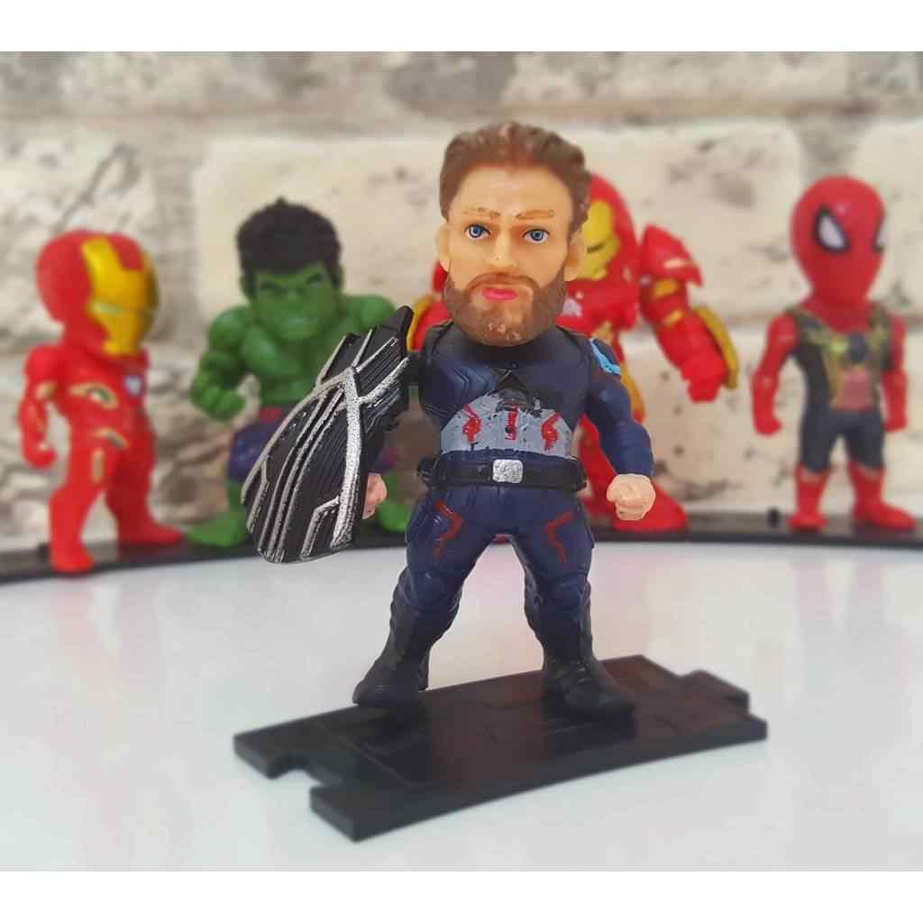 Marvel Arena Avengers Süper Kahraman Koleksiyon Seti 8 Parça