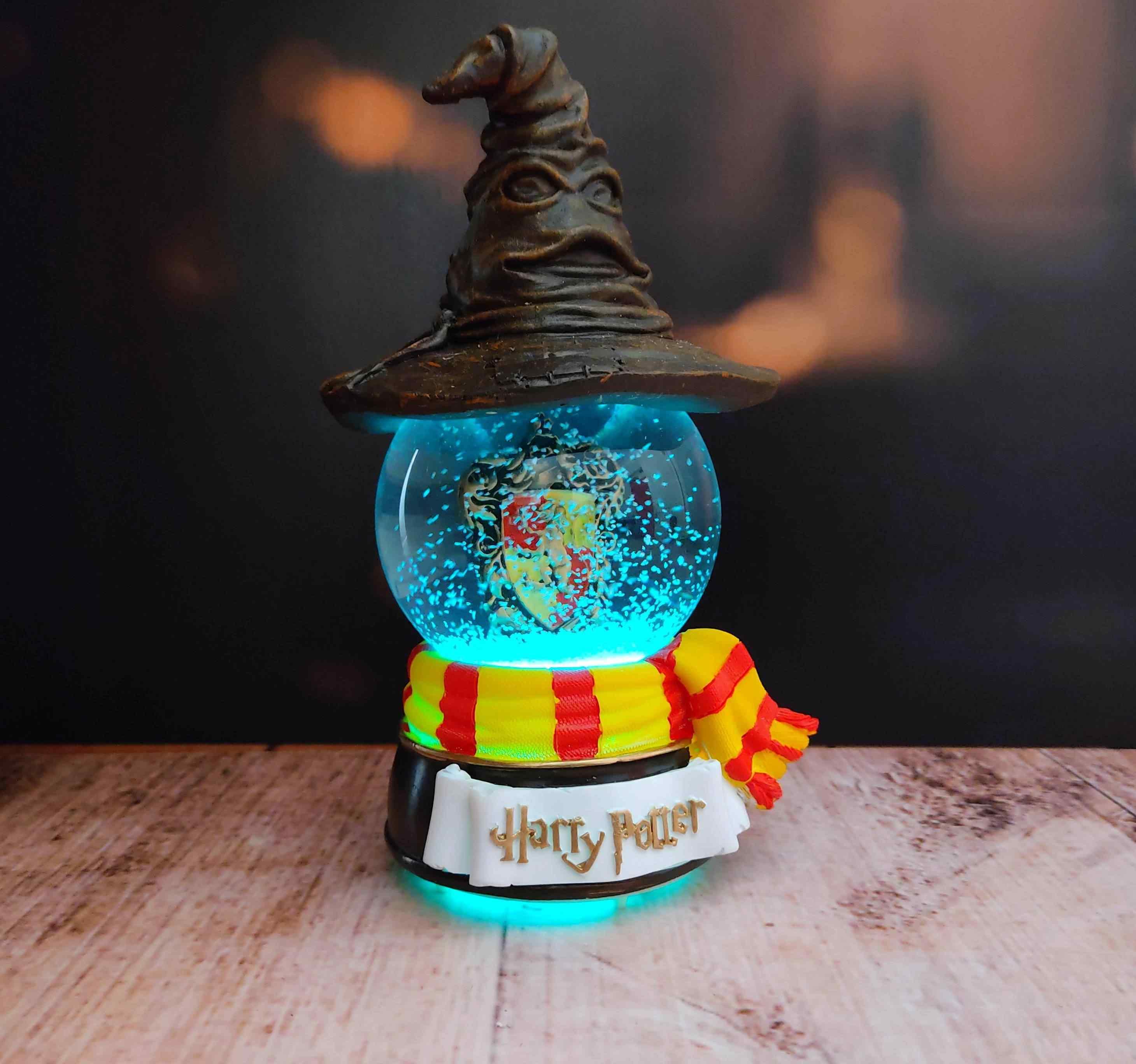 Harry Potter Asa Ve Harry Potter Müzikli Hogwarts Renk Değiştiren Kar Küresi