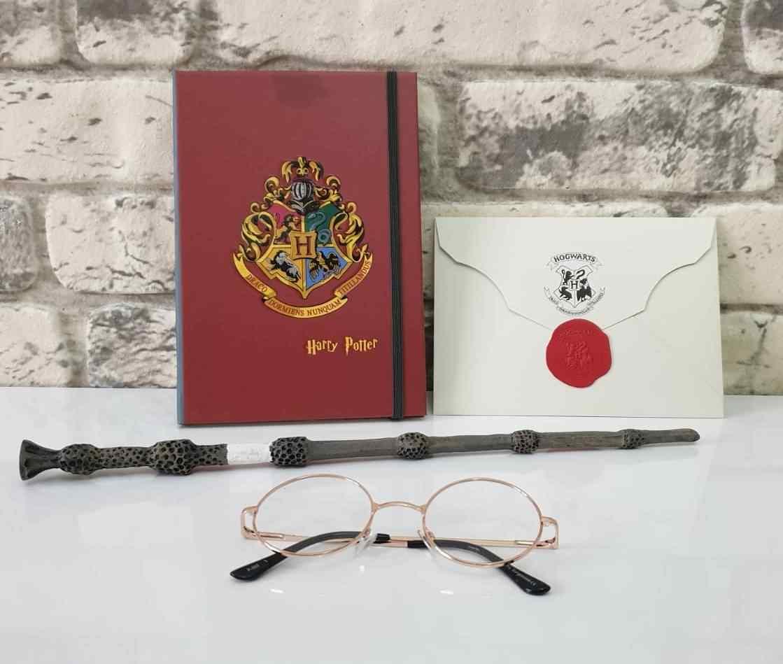 Harry Potter Asa Anahtarlık Defter Gözlük 4 Parça Set