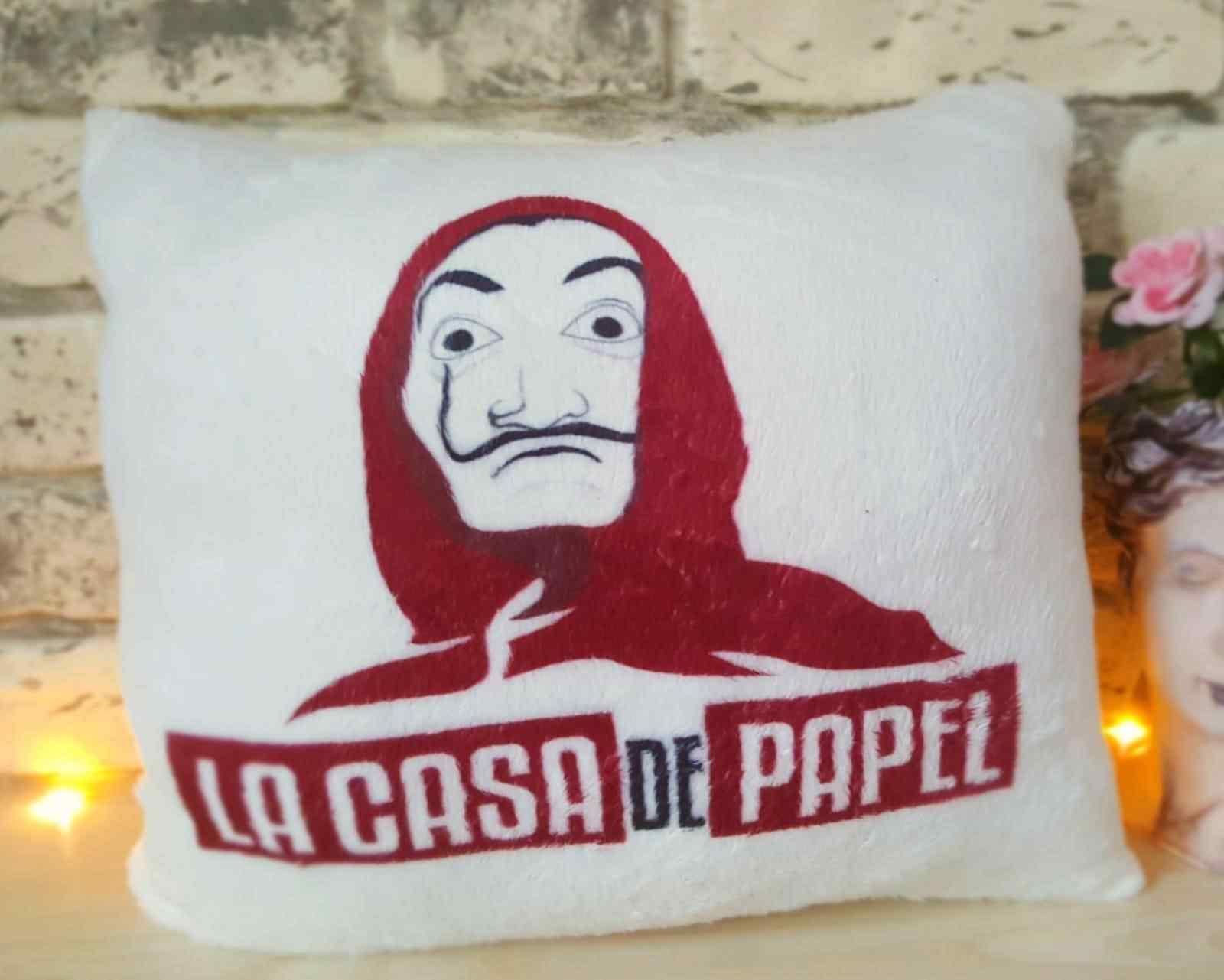 La Casa De Papel Yastık