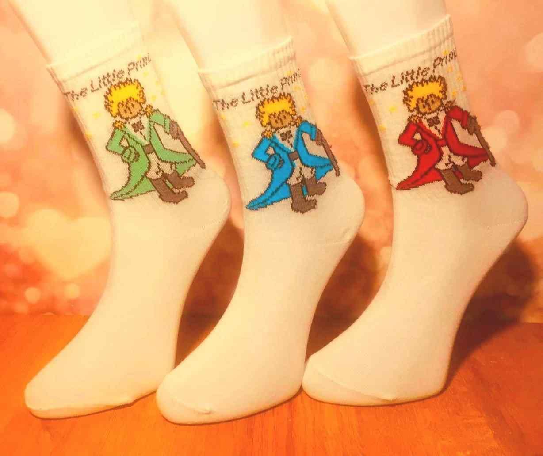 Küçük Prens 3'Lü Çorap Hediye Seti Heiyelik