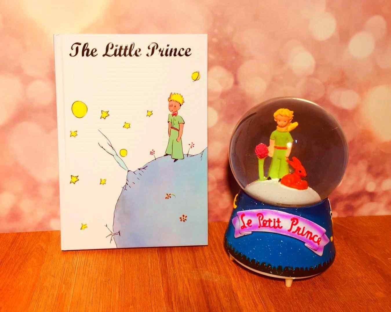 Küçük Prens Kar Küresi(Büyük Boy)  Ve Defter Hediye Seti