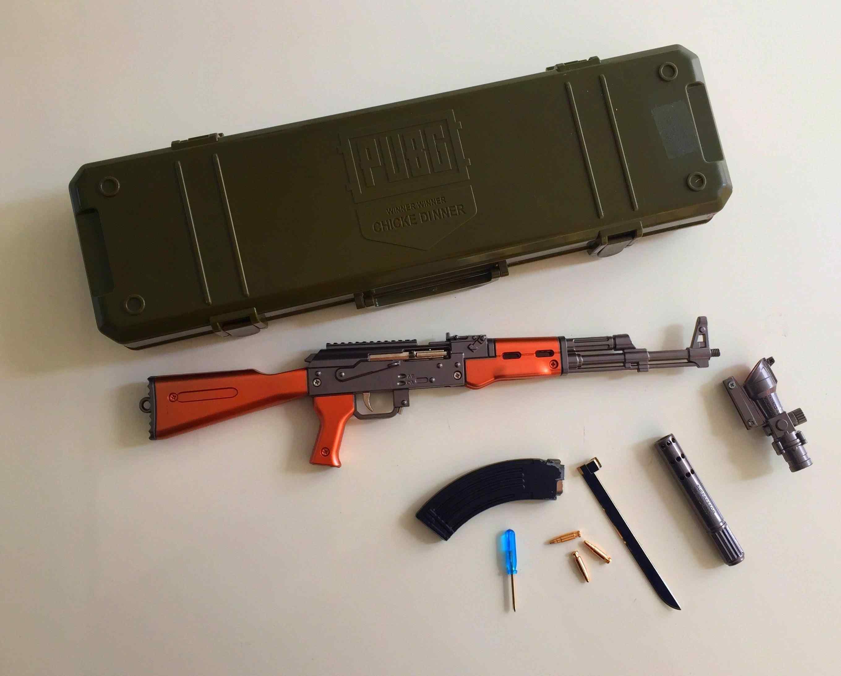 Pubg AKM Silah Metal 40 Cm Koleksiyon