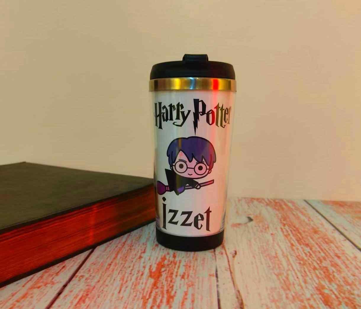 Harry Potter Kişiye Özel Çelik Termos