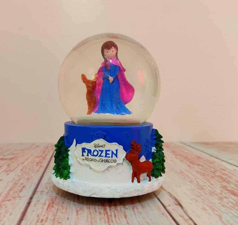 Frozen Müzikli Dönen Kar Küresi
