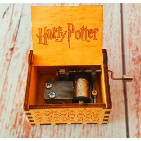 Harry Potter Ahşap Müzik Kutusu El Yapımı - Music Box
