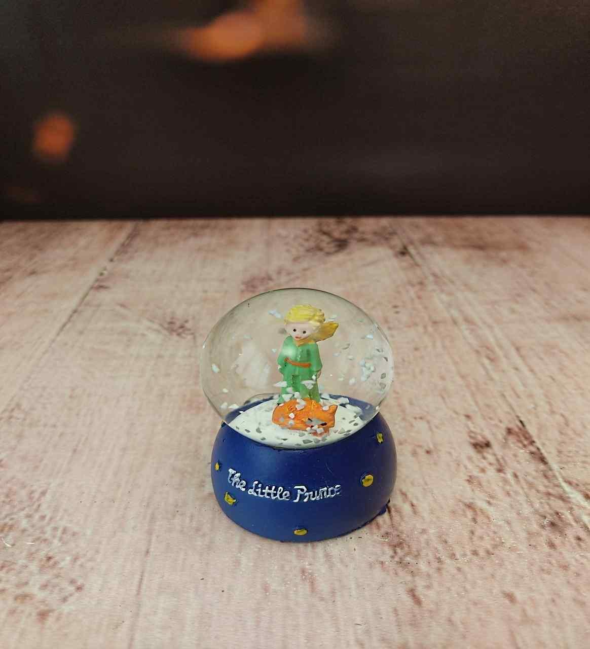 Küçük Prens Arkadaşa Hediye Mini Kar Küresi Ve Başucu Kitabı Unutulmaz 2Li Hediye Seti