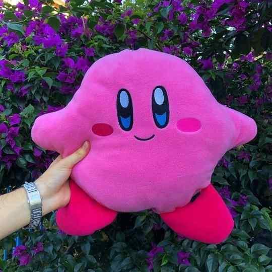 Kirby Tasarımlı Yumuşak Yastık