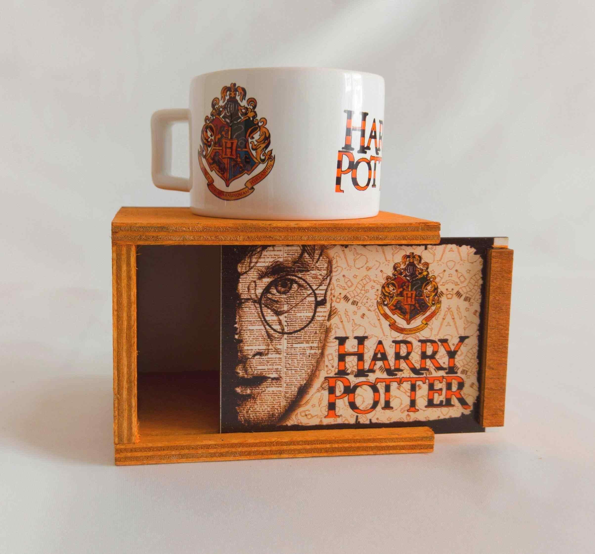 Harry Potter Hogwarts Kabul Davet Mektubu Yastığı, Mektup Ve Kutulu Kupa Arkadaşa Hediye Unutulmaz 3Lü Set