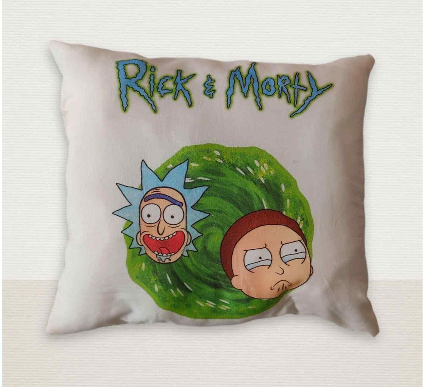 Rick and Morty Tasarımlı Yastık