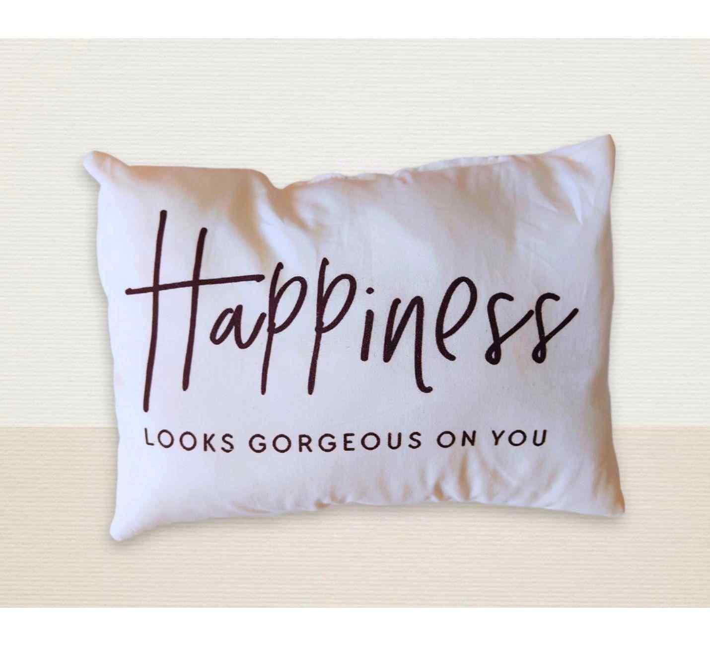 Happiness Mutluluk Tasarımlı Yastık