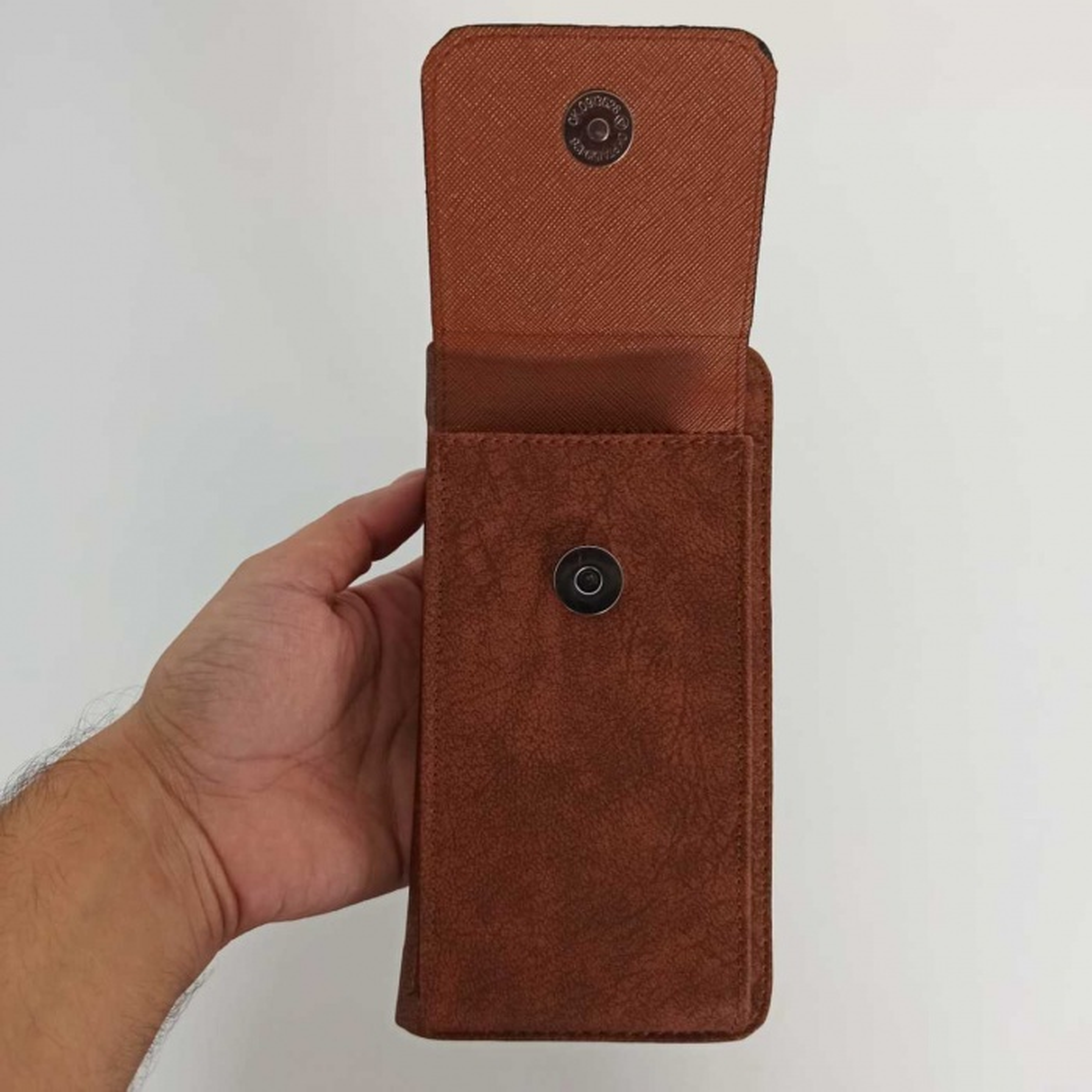Taba Kapaklı Telefon Bölmeli Polo Kadın Cüzdanı