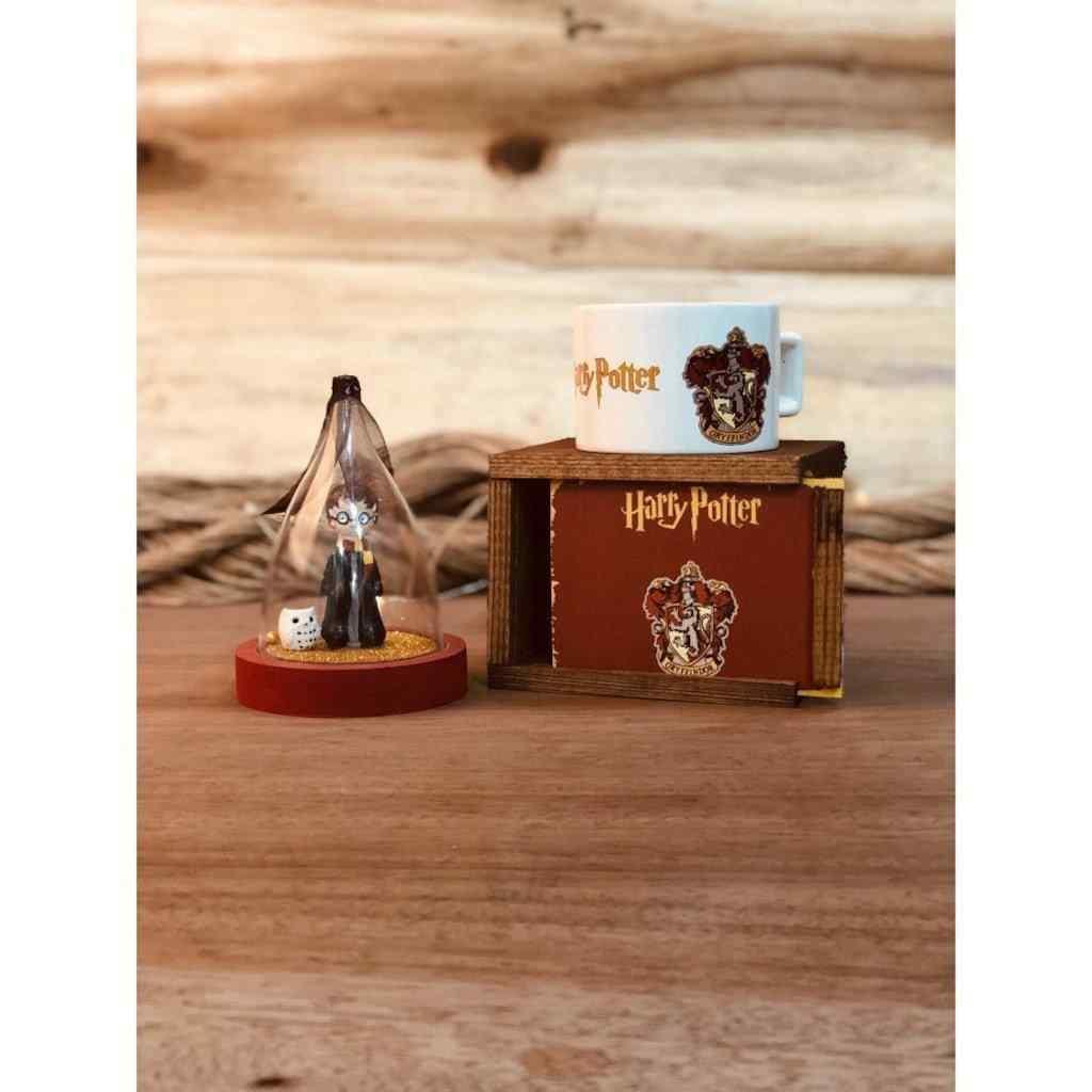 Harry Potter Kutulu Kupa Ve Sihirli Sim Küresi Hediye Seti