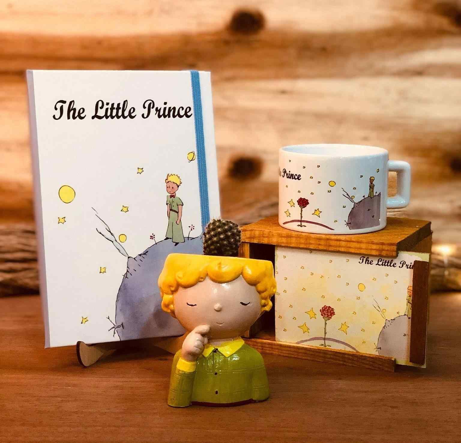 Küçük Prens Unutulmaz Masa Üstü 3lü Hediye Seti