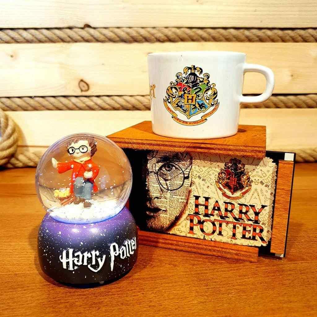 Harry Potter Renk Değiştiren Işıklı Kar Küresi Ve Büyücü Kupası